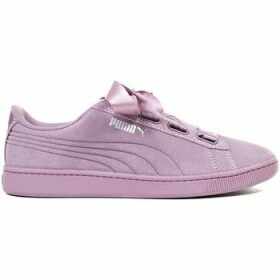 Puma  Vikky V2 Ribbon S  women's Shoes (Trainers) in Purple