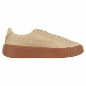 Puma  Platform Veg Tan Naturel  women's Shoes (Trainers) in Beige
