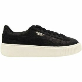 Puma  Platform Euphoria WN S BL  women's Shoes (Trainers) in Black