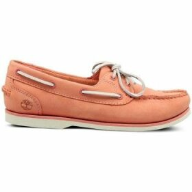 Timberland  Classic Boat  women's Boat Shoes in Pink