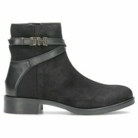 Tommy Hilfiger  FW0FW04281990  women's Low Ankle Boots in Black