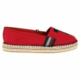 Tommy Hilfiger  FW0FW03846611  women's Espadrilles / Casual Shoes in Red