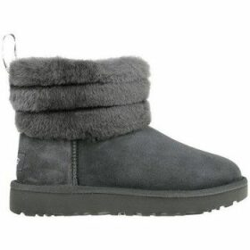 UGG  Fluff Mini Quilted  women's Snow boots in Grey