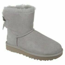 UGG  Mini Bailey Bow II  women's Snow boots in Grey