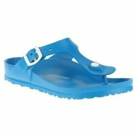Birkenstock  Gizeh Eva  women's Flip flops / Sandals (Shoes) in Blue