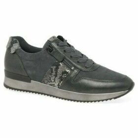 Gabor  Lulea Womens Casual Trainers  women's Shoes (Trainers) in Grey