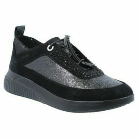 Geox  Theragon D948SA Zapatillas Deportivas de Mujer  women's Shoes (Trainers) in Black