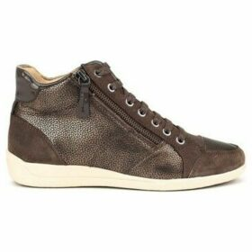 Geox  Myria  women's Shoes (High-top Trainers) in Brown