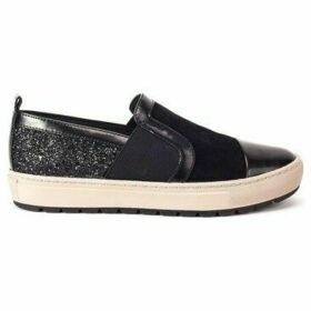 Geox  Breeda  women's Slip-ons (Shoes) in Black
