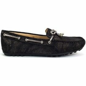 Geox  Leelyan  women's Loafers / Casual Shoes in Black