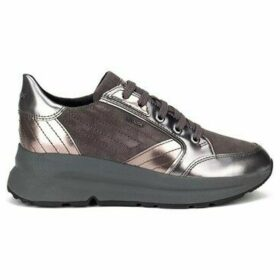 Geox  Backsie  women's Shoes (Trainers) in Grey