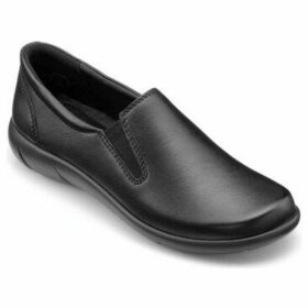 Hotter  Glove Womens Casual Slip-On Wide Fit Shoe  women's Loafers / Casual Shoes in Black
