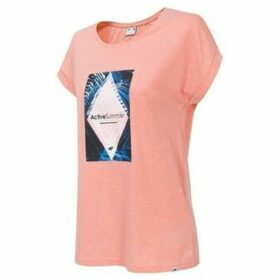 4F  H4L19 TSD010  women's T shirt in Pink