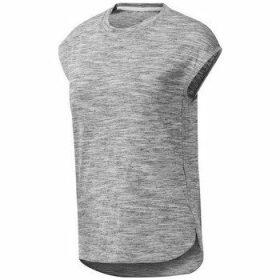 Reebok Sport  EL Marble  women's T shirt in Grey