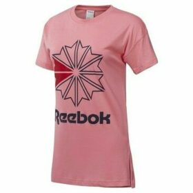 Reebok Sport  Classics Graphic  women's T shirt in Pink