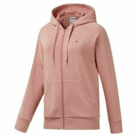 Reebok Sport  F Fleece FZ  women's Sweatshirt in Pink