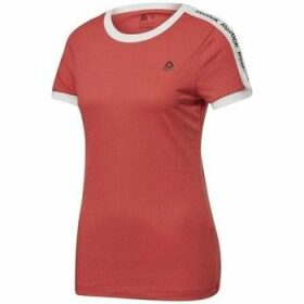 Reebok Sport  Linear Logo Tee  women's T shirt in multicolour