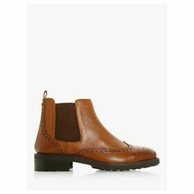 Dune Quarters Leather Chelsea Boots