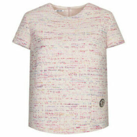 Deni Cler Milano  Tweed blouse  women's Blouse in Pink