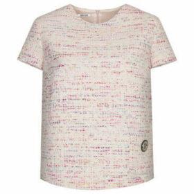Deni Cler Milano  Tweed blouse  women's Blouse in Pink
