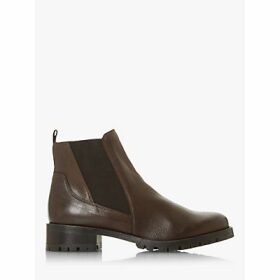 Dune Powerful Leather Chelsea Boots