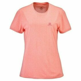 Salomon  Comet Classic Tee  women's T shirt in Pink