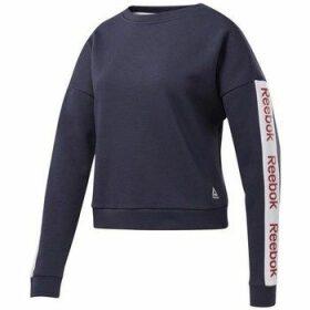 Reebok Sport  Linear Logo Crew  women's Sweatshirt in multicolour