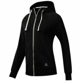 Reebok Sport  Elements French Terry Full Zip  women's Sweatshirt in Black