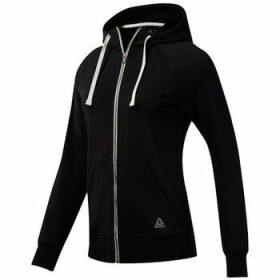 Reebok Sport  Elements French Terry Full Zip  women's Sweatshirt in Black