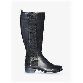 Josef Seibel Alicia 4 Leather Knee High Boots, Schwarz