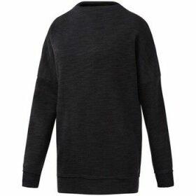 Reebok Sport  EL Marble Crew  women's Sweatshirt in Black