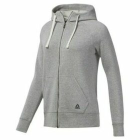 Reebok Sport  EL FL Full Zip  women's Sweatshirt in Grey