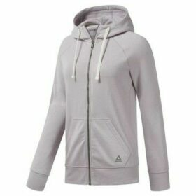 Reebok Sport  Elements Fleece Full Zip  women's Sweatshirt in Purple