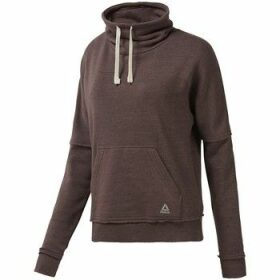 Reebok Sport  EL Marble Cowl Neck  women's Sweatshirt in Brown