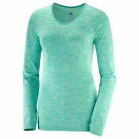 Salomon  Elevate Moveon LS  women's Sweatshirt in multicolour