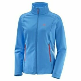 Salomon  Discovery LT FZ  women's Sweatshirt in Blue