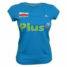 adidas  Ess 3S Tee  women's T shirt in multicolour