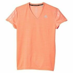 adidas  Response  women's T shirt in Orange