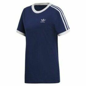 adidas  3 Stripes  women's T shirt in multicolour
