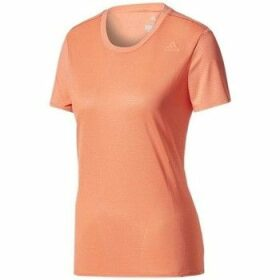 adidas  SN SS Tee W  women's T shirt in Orange