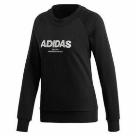 adidas  Ess Allcap  women's Sweatshirt in Black