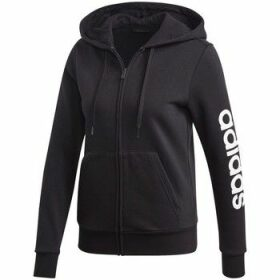 adidas  W Essentials Linear  women's Sweatshirt in Black