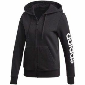 adidas  W Essentials Linear  women's Sweatshirt in Black