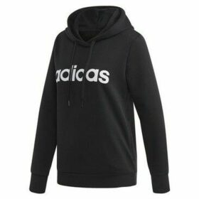 adidas  Essentials Linear Pullover  women's Sweatshirt in Black