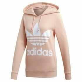 adidas  Trefoil Hoodie  women's Sweatshirt in Pink