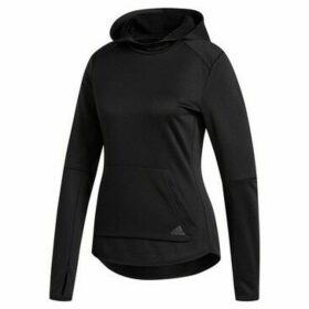 adidas  Own The Run  women's Sweatshirt in Black