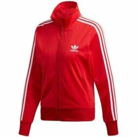 adidas  Firebird Track Jacket  women's Sweatshirt in Red