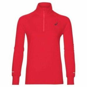 Asics  Thermopolis LS 12 Zip  women's Sweatshirt in Red