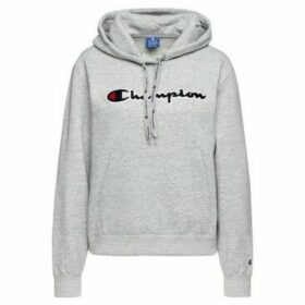Champion  Hooded Sweatshirt  women's Sweatshirt in Grey