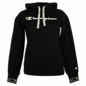 Champion  Hooded Sweatshirt  women's Sweatshirt in Black